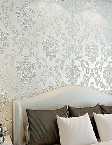 cheap 11.11 - Wallpapers Best Sale-Art Deco Home Decoration Classical Wall Covering, Non-woven Paper Material Adhesive required Wallpaper, Room Wallcovering