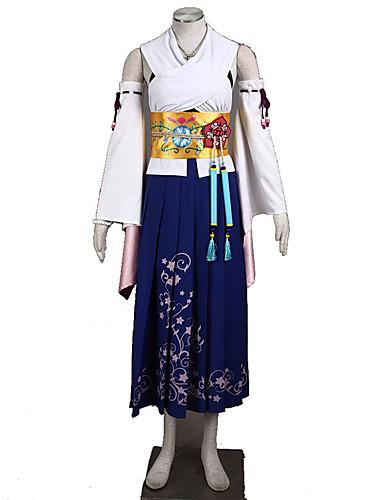 povoljno Anime cosplay-Inspirirana Final Fantasy Cosplay Anime Cosplay nošnje Japanski Cosplay Suits Jednobojni Suknja / Grudnjak / Rukavi Za Žene