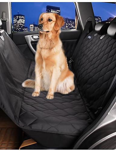 preiswerte Hundebetten & Decken-Hund Matratzen Unterlage Auto Sitzbezug Bettdecken Textil Haustiere Matten & Polster Wasserdicht Klappbar Schwarz