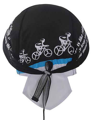 povoljno Odjeća za vožnju biciklom-XINTOWN Lubanja Caps Kapa Headsweat Do Rag Vjetronepropusnost Zaštita od sunca UV otporan Prozračnost Quick dry Bicikl / Biciklizam Crn Zima za Muškarci Žene Uniseks Camping & planinarenje Ribolov