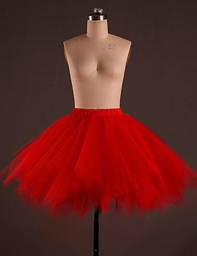 voordelige Shall We®-Ballet Kleding Onderlichaam Dames Opleiding Polyester Drapering Laag Rok