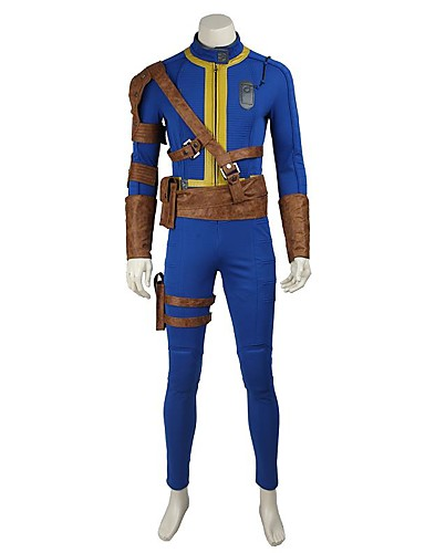 cheap Videogame Costumes-Inspired by Overwatch Ace Video Game Cosplay Costumes Cosplay Suits / Cosplay Tops / Bottoms Solid Colored Leotard / Onesie Belt More Accessories Costumes