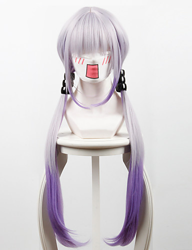 levne Cosplay paruky-Slečna Kobayashi-san Dragon Maid cosplay Cosplay Paruky Pánské Dámské 34 inch Horkuvzdorné vlákno Fialová Anime