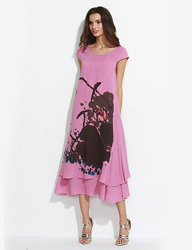 25d0873ed6cf Γυναικεία Καθημερινά Φαρδιά Φόρεμα