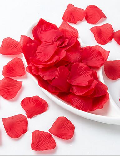 preiswerte Bettwäsche-Sets & Kopfkissen-Künstliche Blumen 5 Ast Hochzeitsblumen Blütenblätter Tisch-Blumen
