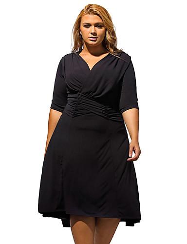 Vestido formal talla grande