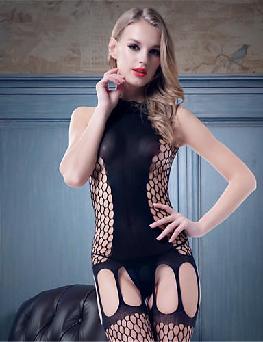 6476266701297 أرواب أحزمة لانجري دانتيل مثير جداً ملابس نوم للمرأة نايلون سباندكس سادة  أسود 2768187 2019 –  6.20