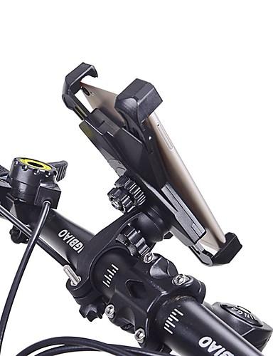 billige Sykling-HiUmi Telefonstativ til sykkel Justerbare Antiskl Mobiltelefon Anti Shake Stabil Til Vei Sykkel Fjellsykkel BMX TT Foldesykkel Sykling ABS 1 pcs