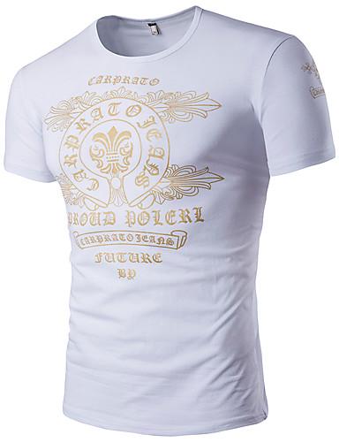 8de756ed2ab Men s Daily Sports Plus Size Casual Active Boho Summer T-shirt