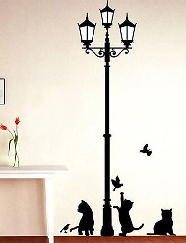 preiswerte Tier Wandsticker-Tiere Mode Freizeit Wand-Sticker Flugzeug-Wand Sticker Dekorative Wand Sticker, Vinyl Haus Dekoration Wandtattoo Wand