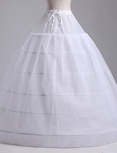 cheap Wedding Slips-Wedding / Special Occasion / Party / Evening Slips Tulle / Polyester Floor-length A-Line Slip / Ball Gown Slip / Classic & Timeless with