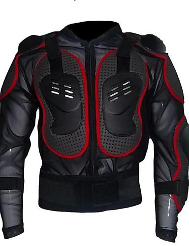 povoljno Odjeća za vožnju biciklom-Uniseks Dugih rukava Biciklistička jakna Crn Crna / crvena Bicikl Biciklistička majica Majice Anatomski dizajn Sportski Zima Najlon PVC Odjeća