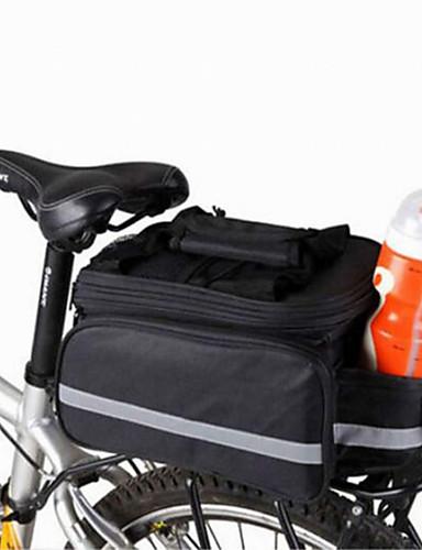 povoljno Biciklizam-WEST BIKING® 20 L Panniers & Rack Trunk Bike Trunk Bags Višenamjenski Prilagodljivo Velika zapremnina Torba za bicikl Najlon Torba za bicikl Torbe za biciklizam Biciklizam / Bicikl / Vodootporno