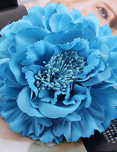 preiswerte Hochzeiten & Feste-Stoff / Satin Fascinatoren / Blumen / Kopfbedeckung mit Blumig 1pc Hochzeit / Besondere Anlässe / Draussen Kopfschmuck