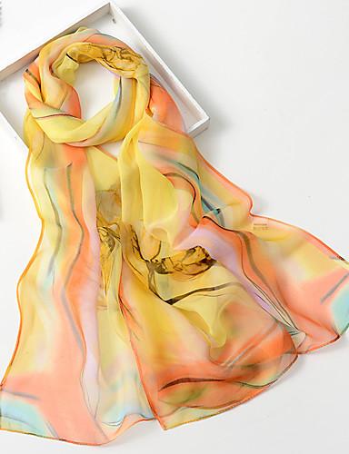 preiswerte Schön schick mit bedruckten Schals-Damen Party, Chiffon Rechteck - Druck / Niedlich