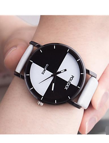 สำหรับผู้หญิง นาฬิกาแนวสปอร์ต นาฬิกาอิเล็กทรอนิกส์ (Quartz) 30 m / Plastic วงดนตรี อะนาล็อก-ดิจิตอล วินเทจ ดำ / สีขาว / ฟ้า - สีดำ ฟ้า สีชมพู
