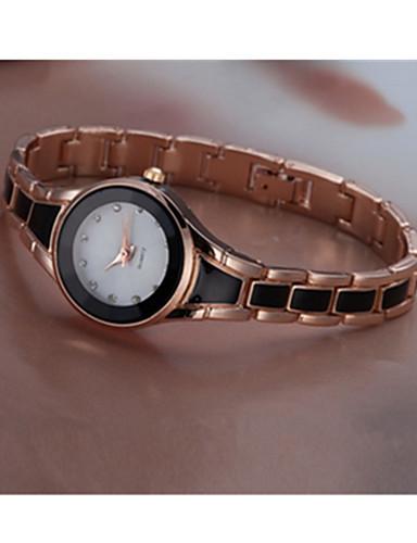 สำหรับผู้ชาย สำหรับผู้หญิง นาฬิกาแนวสปอร์ต นาฬิกาอิเล็กทรอนิกส์ (Quartz) 30 m / สแตนเลส วงดนตรี อะนาล็อก-ดิจิตอล วินเทจ ดำ / สีขาว - ขาว สีดำ