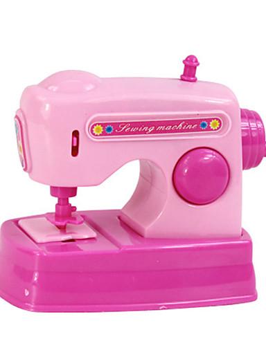 preiswerte Spielhaushaltsgeräte-Tue so als ob du spielst Nähmaschine Neuartige Kunststoff Metal Spielzeuge Geschenk 1 pcs