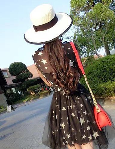 Women's Fashion Straw Hat Sun Hat Wide Brim/Bucket Hat Cute Casual Bowknot Beach Summer White/Khaki 5744486 2019 – $6.29