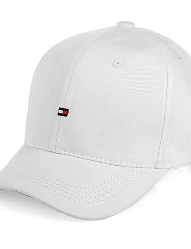 preiswerte Kleidung Accessoires-Ball Cap Hut 1 Stück Sonnenschutz UV-beständig Atmungsaktiv tragbar Modisch Frühling für Herrn Damen Camping & Wandern Angeln Draußen Weiß / Winter / Leichtes Material