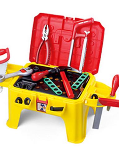 voordelige Speelgoedgereedschap-Doen alsof-spelletjes Speelgoedgereedschap Gereedschapskisten Unisex Veiligheid Noviteit Kinderen