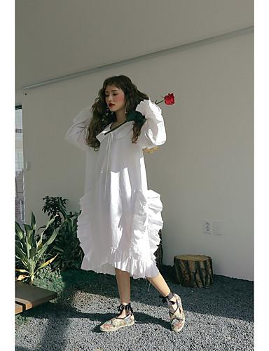 Korea Stylenanda Same Paragraph Frilly Dress Embellished Beam Led