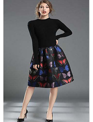 odhalit skutečnou šanci v Evropě a Americe žen amp   39  s novou zimní  pletené steh žakárové elastický a-linie sukně šaty štíhlý 5660836 2019 –   22.04 b77c9b1d86