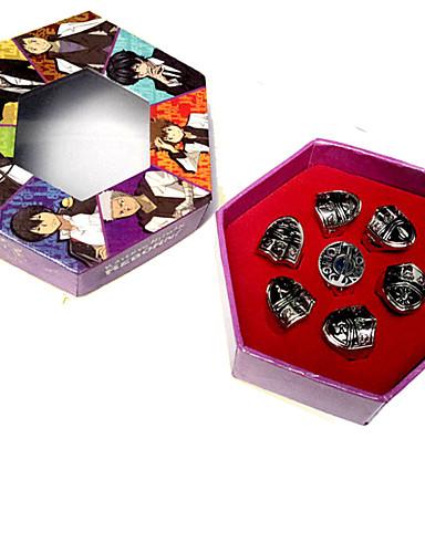 povoljno Maske i kostimi-Jewelry Inspirirana Katekyo Hitman Reborn! Tsunayoshi Sawada Anime Cosplay Pribor prsten Legura Muškarci Noć vještica