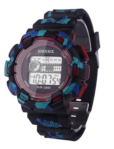 c6b5d7871ba Pánské Sportovní hodinky Digitální hodinky čínština Digitální Silikon  Kapela Černá 5846574 2018 –  7.99
