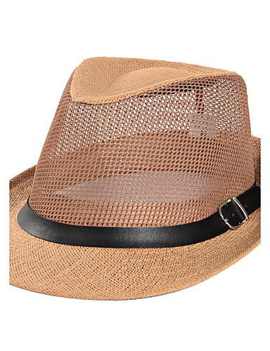 Hombre Sombrero para el sol - Vacaciones Un Color   Verano 5801437 2019 –   10.49 be2cae5801a5