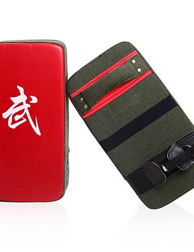 povoljno Vježbanje, fitness i joga-Boks i Borilačke vještine za pisanje Boksačke rukavice Za Taekwondo Boks Stručni Razina Brzina Izdržljivost PU 1 pcs Crn Red