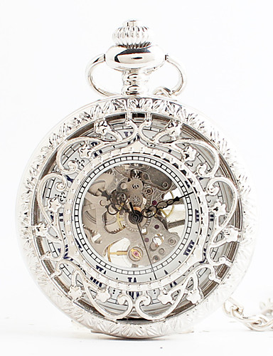 eeec087ff Women's Pocket Watch Japanese Quartz White Hollow Engraving Analog Vintage  Steampunk - White 5805138 2019 – $26.24