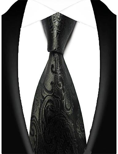 זול עניבות ועניבות פרפר לגברים-עניבת צווארון - פסים מסיבה / עבודה / בסיסי בגדי ריקוד גברים