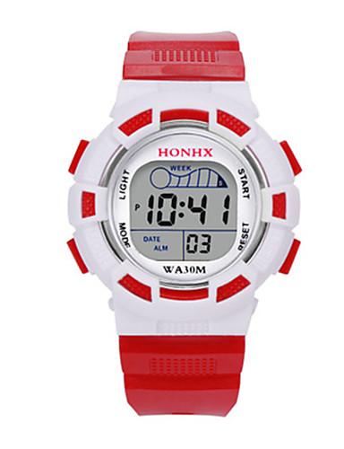 34123e0d8ec Dámské Dětské Sportovní hodinky Digitální hodinky čínština Digitální Silikon  Kapela Modrá Červená žlutá 5846563 2019 –  7.99