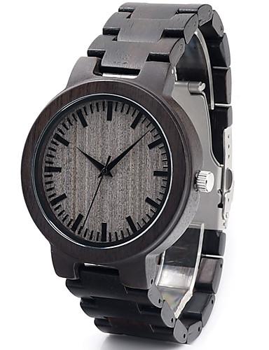 Pánské Módní hodinky Náramkové hodinky Unikátní Creative hodinky Hodinky na  běžné nošení Hodiny Dřevo japonština Křemenný Japonské Quartz 5793020 2018  – ... 9996a162af2
