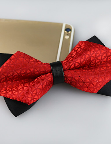 cheap Men's Ties & Bow Ties-Men's Party / Work / Basic Bow Tie - Jacquard