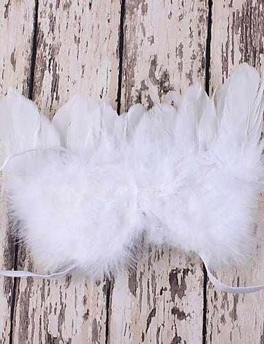 preiswerte Kindermode-Neugeborene Unisex Kunst-Pelz / Andere / Organische Baumwolle Schal, Hut & Handschuhset Weiß / Rote / Rosa Einheitsgröße / Stirnbänder