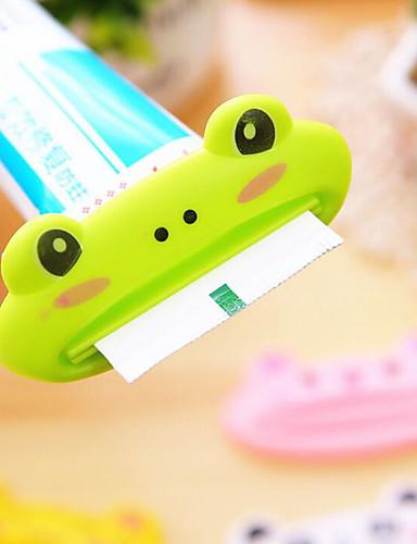 preiswerte HomeSweetHome-1 stücke tier einfache zahnpastaspender kunststoff zahnpastatube squeezer nützliche zahnpastarollen halter für zuhause badezimmer