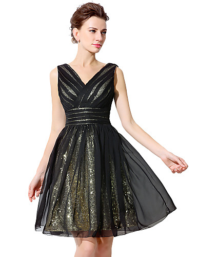 Knee Length Cocktail Party Dress