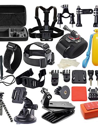 povoljno ljetni popust-Pomagač Kit Vodootporno 42 u 1 42 pcs Za Akcija kamere Gopro 6 Gopro 5 Xiaomi Camera Gopro 4 Gopro 4 Silver Ronjenje Surfanje Lov i ribolov plastika Najlon EVA pjena / Gopro 1 / Gopro 2 / Gopro 3