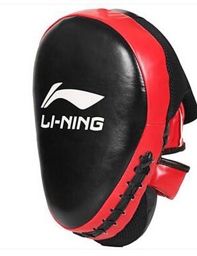 povoljno Vježbanje, fitness i joga-Boksačke rukavice Za Taekwondo Boks Obrazac Fit Izdržljivost PU koža Crno-crvena