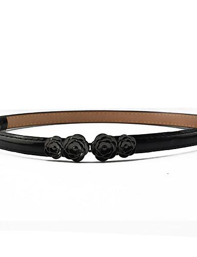 voordelige Mode-accessoires-Dames Jurk Belt Bloemen Hars, Effen Gesp -