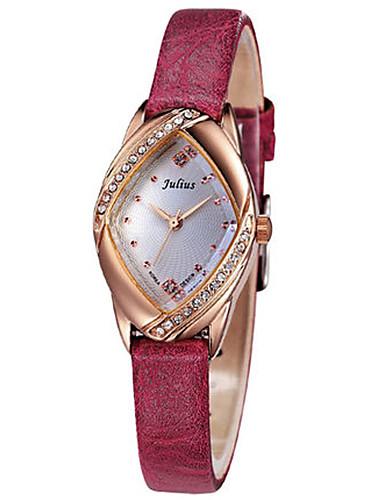 c68a790eba9 Dámské Módní hodinky japonština Křemenný Voděodolné Kůže Kapela Na běžné  nošení Černá Bílá Červená Hnědá Růžová 5934335 2019 –  24.99