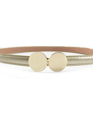 voordelige Mode-accessoires-Dames Jurk Belt Stof / Legering, Effen Gesp -