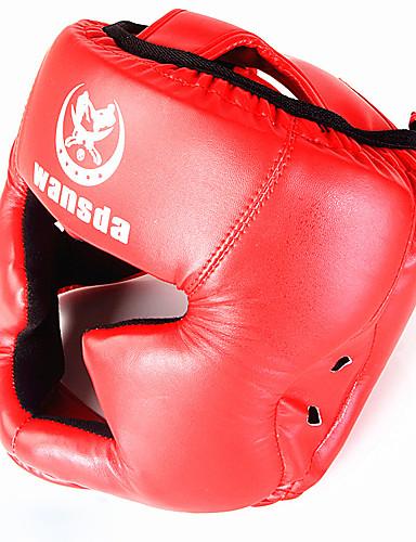 povoljno Vježbanje, fitness i joga-Kaciga Za Taekwondo, Boks PU (Poliuretan) Uniseks Red / Srebrna