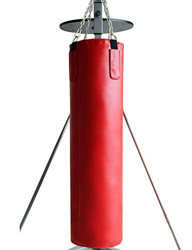 povoljno Vježbanje, fitness i joga-Vreća za udaranje Vreća s pijeskom Za Taekwondo Boks Karate Trening u teretani Borilačke vještine Izdržljivost Neispunjen Trening snage 1 pcs Red