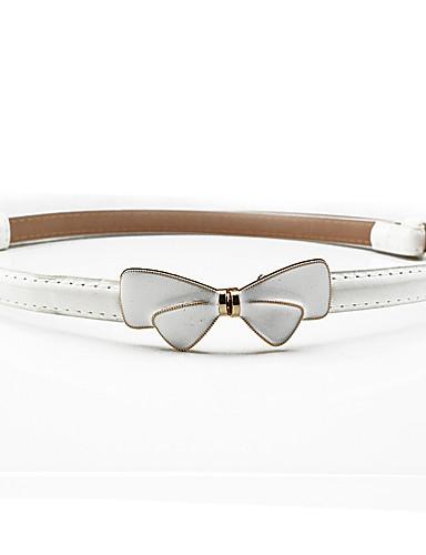 voordelige Mode-accessoires-Dames Jurk Belt Strik Hars / Legering, Effen Gesp -