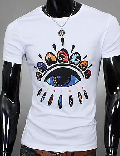 490ea700c6c3 Pánské-Jednobarevné Jednoduchý Tričko