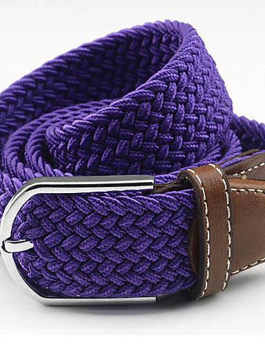 voordelige Mode-accessoires-Unisex Decoratief / Jurk Belt Legering, Effen Brede riem -