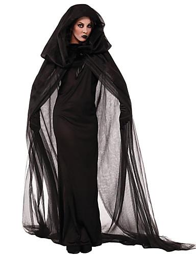 povoljno Maske i kostimi-Anđeo i vrag Movie & TV Theme Costumes Cosplay Nošnje Kostim za party Žene Halloween Karneval Festival / Praznik Poliester Žene Karneval kostime Jednobojni